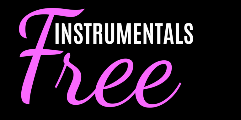 Free Instrumentals logo on black background